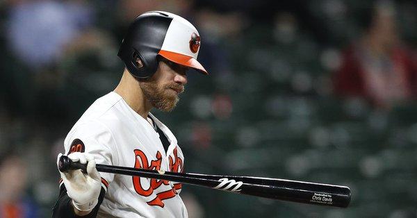 【MLB】オリオールズのクリス・デービス、61打席連続無安打のワースト記録更新…ネット上では「メジャーのハルウララ」と呼ばれる